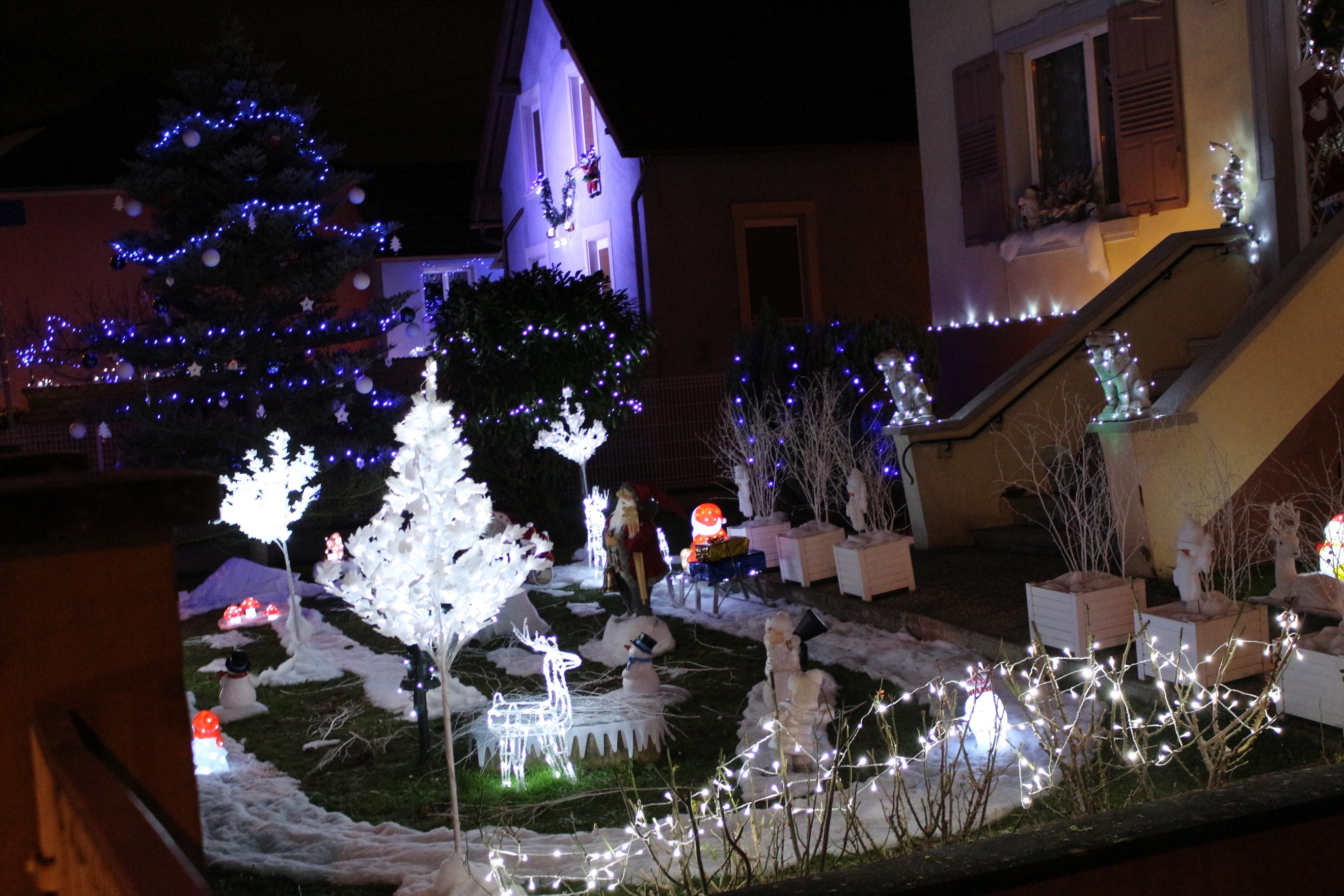Le jardin du Père Noel