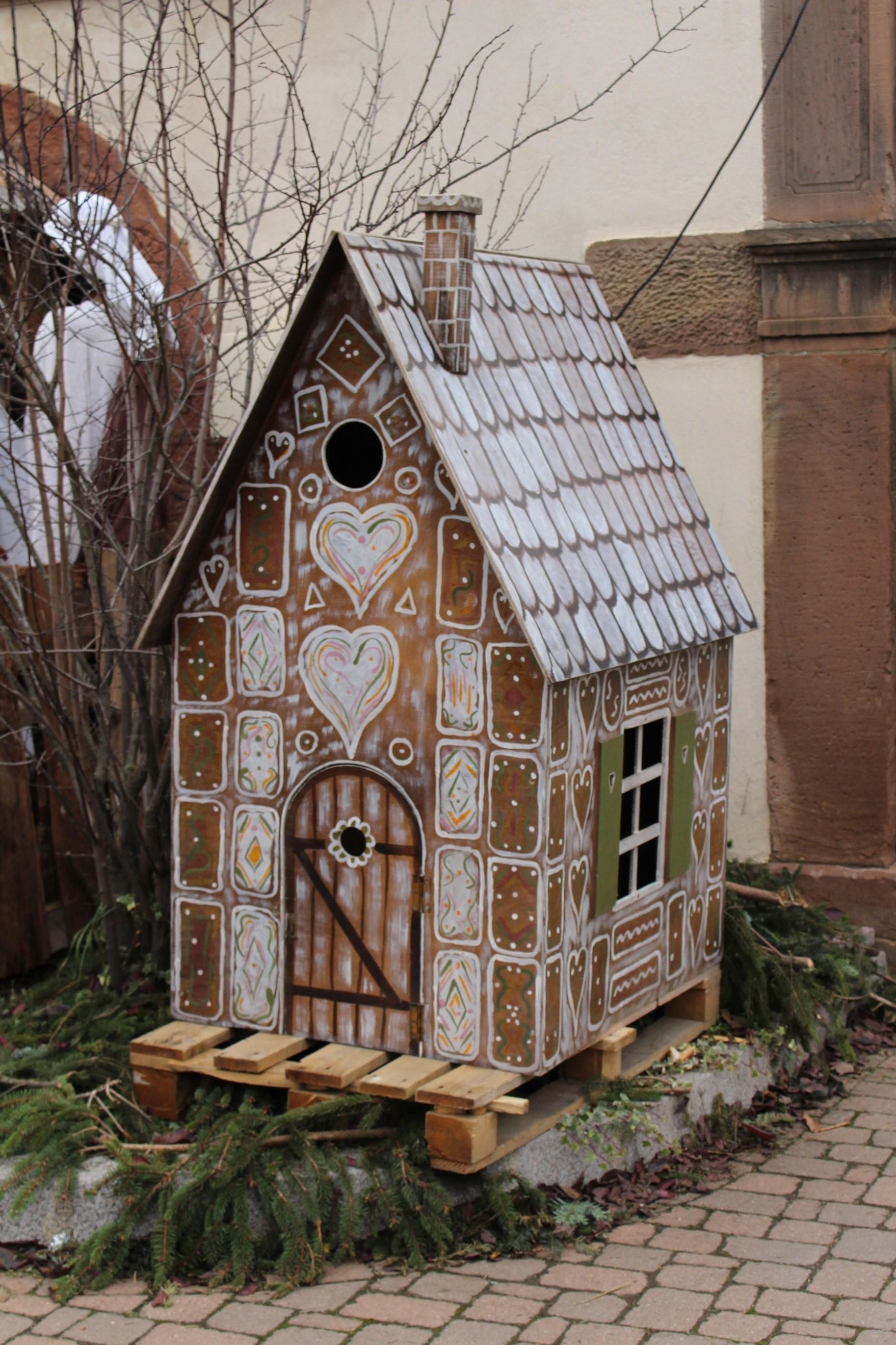 La maison de Hansel et Gretel