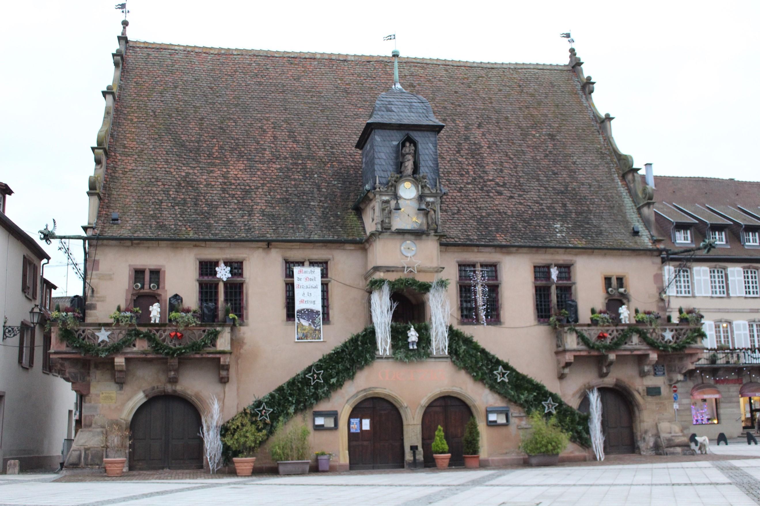 La mairie de Molsheim