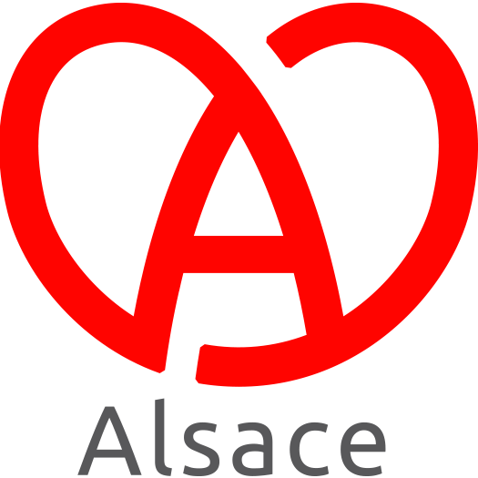 le coeur de l'Alsace en logo