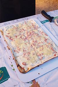 une bonne tarte flambée Alsacienne